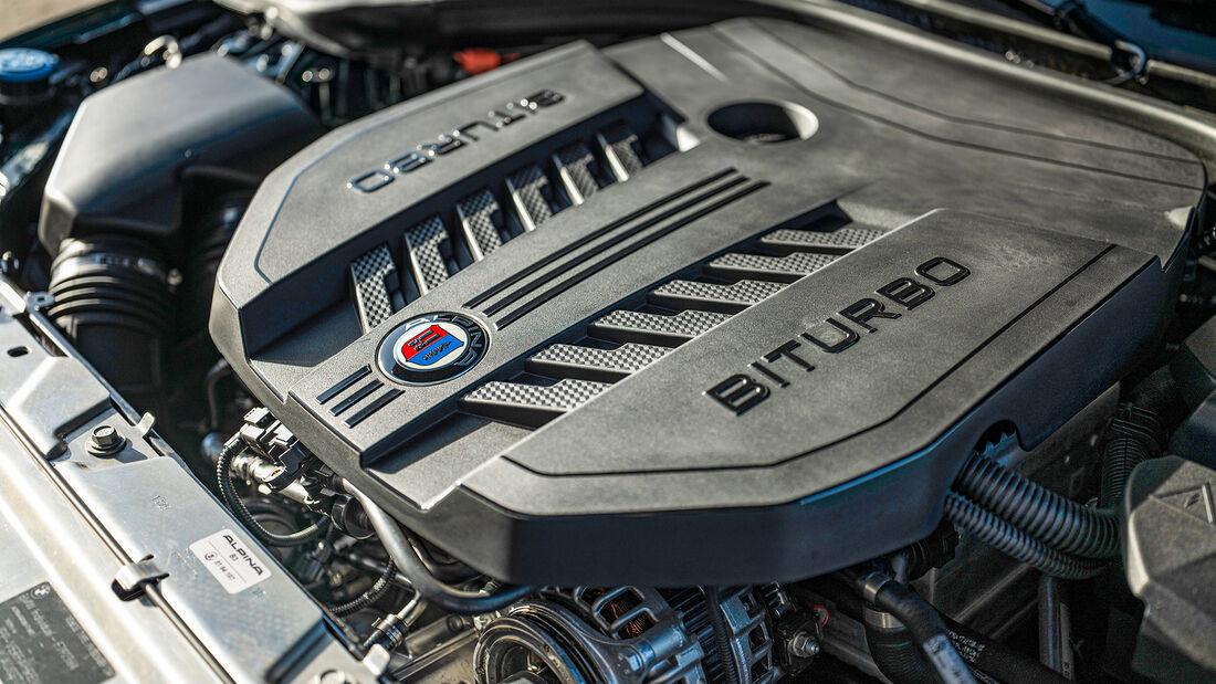 BMW Alpina B3 Touring, Motor