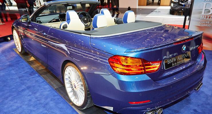 BMW Alpina B4 Biturbo Cabrio, Genfer Autosalon, Messe, 2014