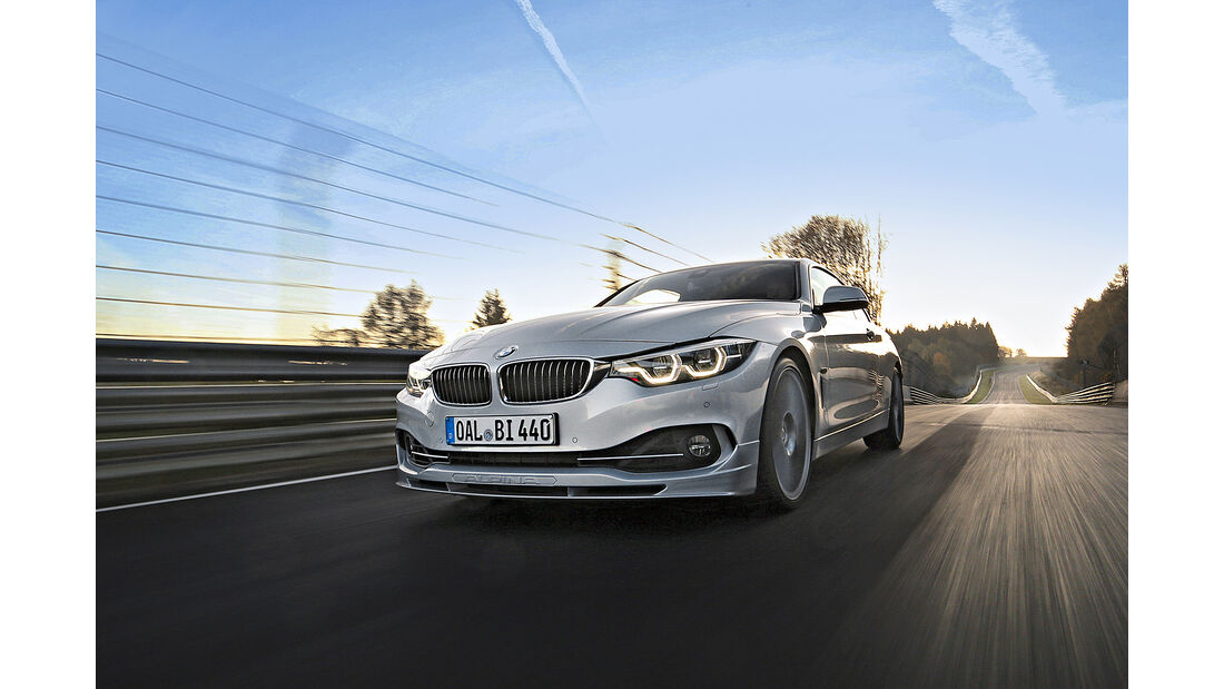 BMW Alpina B4 S Biturbo Allrad, Supertest, Exterieur