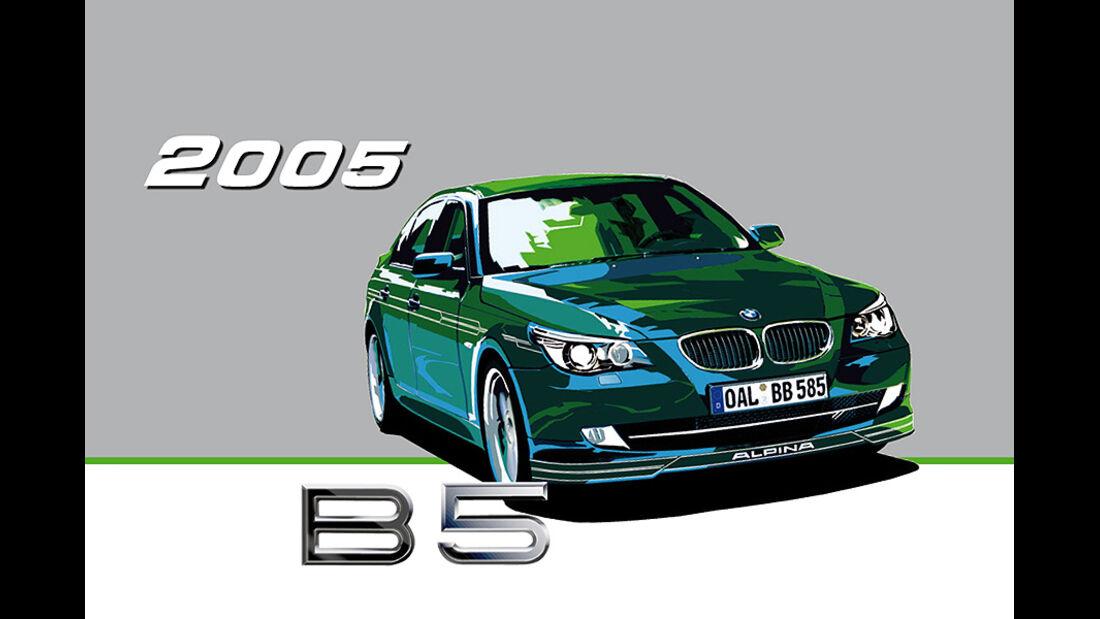 BMW Alpina B5 Biturbo 2005