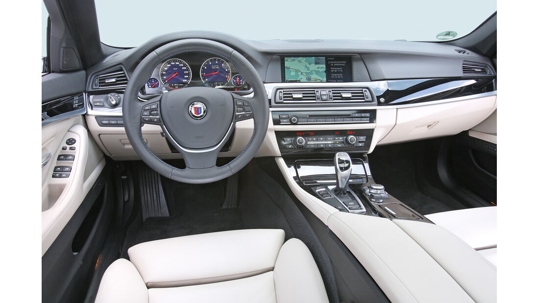 BMW Alpina B5 Biturbo, Cockpit