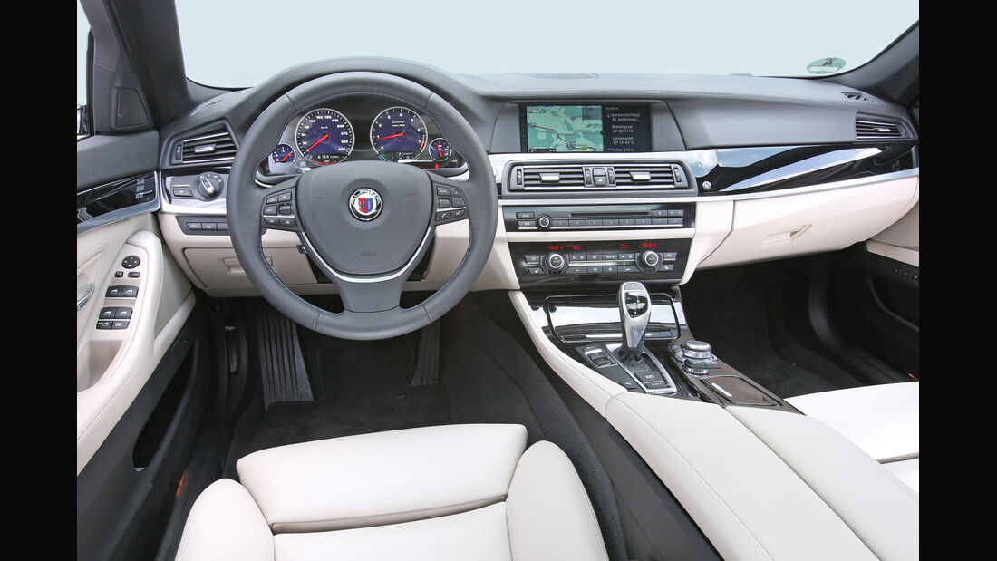 BMW Alpina B5 Biturbo, Cockpit