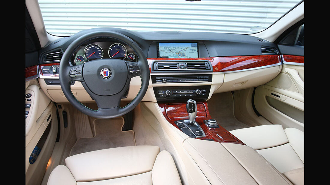 BMW Alpina B5 Biturbo,Cockpit