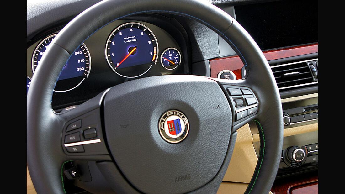 BMW Alpina B5 Biturbo Cockpit