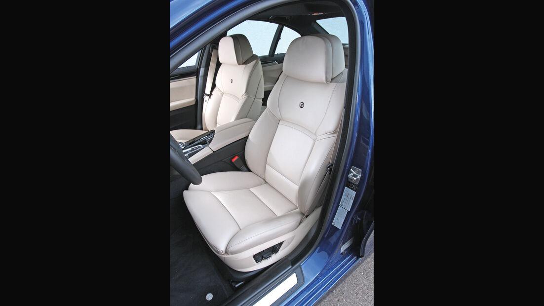 BMW Alpina B5 Biturbo, Fahrersitz