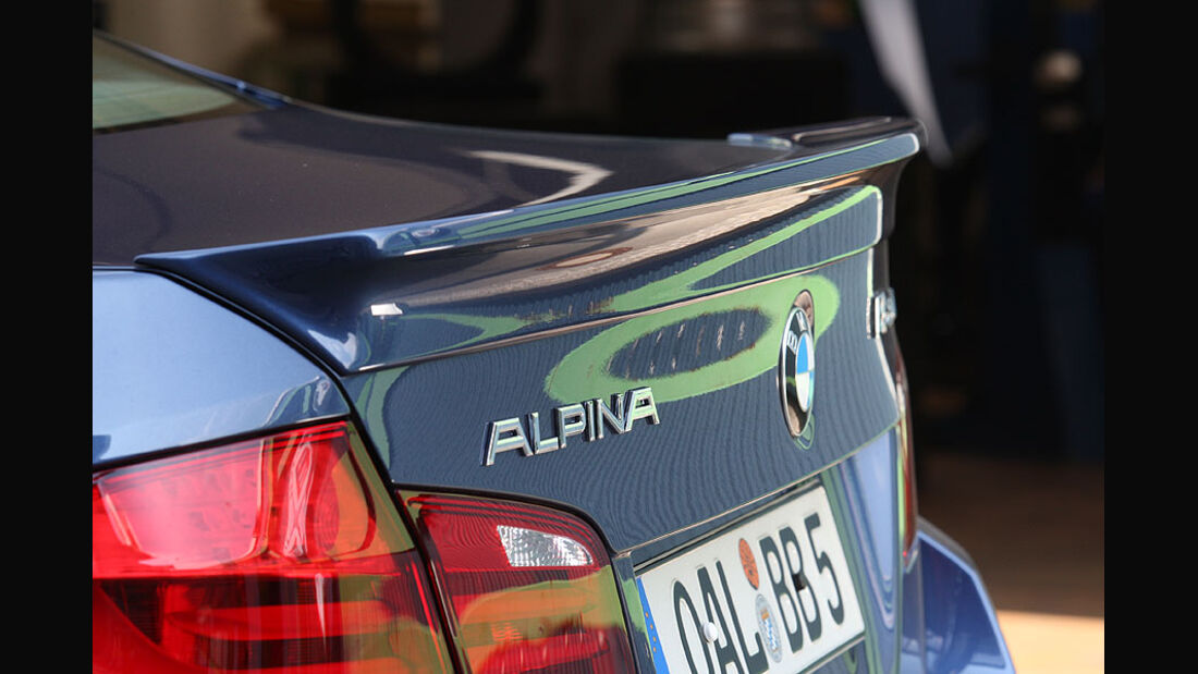 BMW Alpina B5 Biturbo,Heck