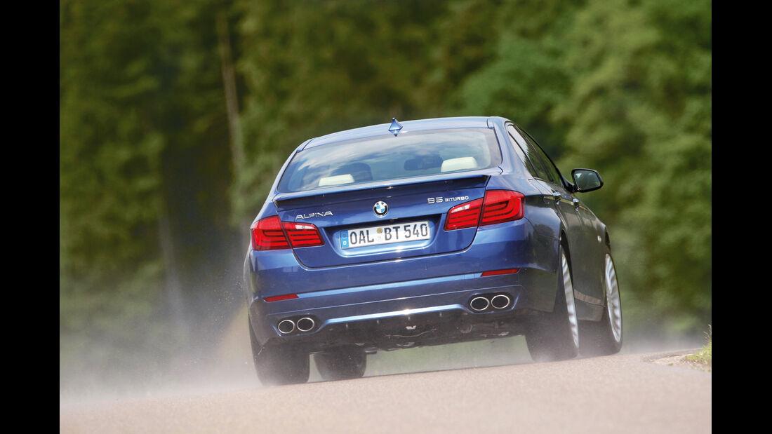 BMW Alpina B5 Biturbo, Heckansicht