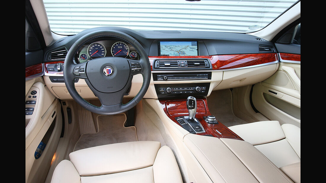 BMW Alpina B5 Biturbo, Innenraum, Cockpit