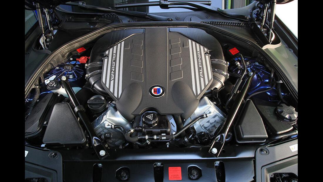 BMW Alpina B5 Biturbo,Motor