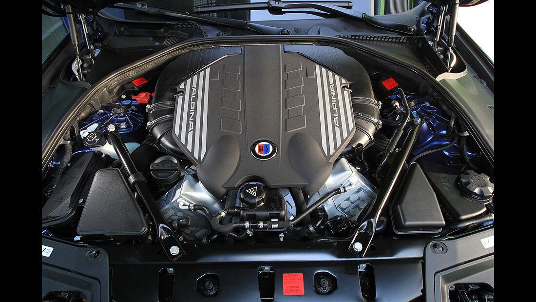 BMW Alpina B5 Biturbo, Motor, V8