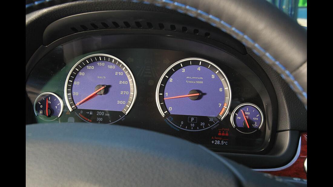 BMW Alpina B5 Biturbo,Tacho