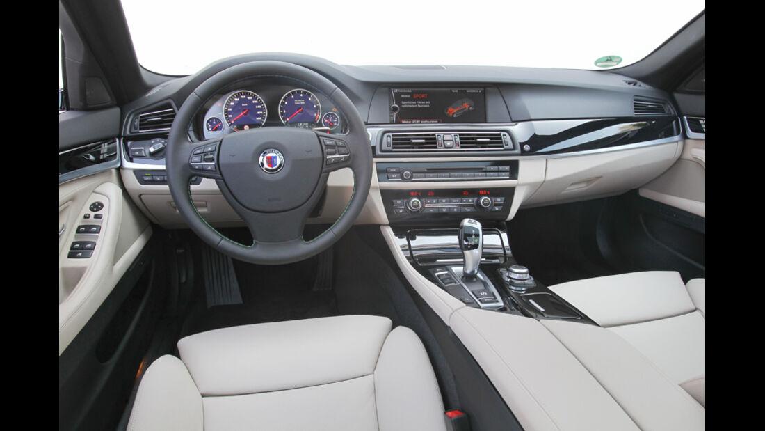 BMW Alpina B5 Biturbo Touring, Cockpit, Lenkrad, Innenraum