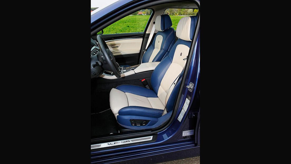 BMW Alpina B5 Biturbo Touring, Fahrersitz