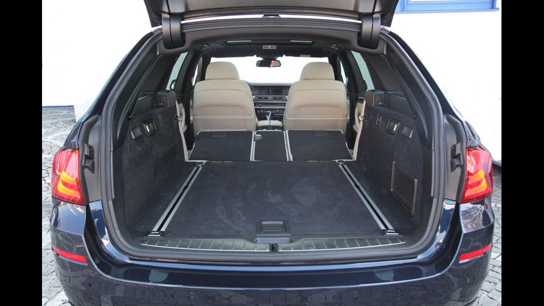 BMW Alpina B5 Biturbo Touring, Kofferraum, Ladefläche
