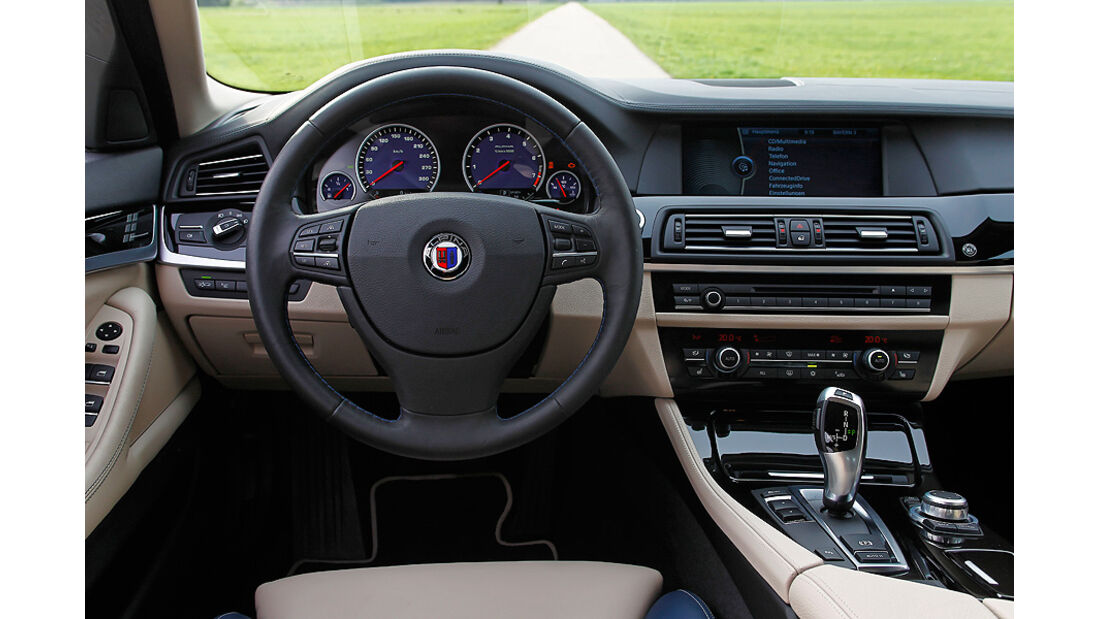 BMW Alpina B5 Biturbo Touring, Lenkrad, Cockpit
