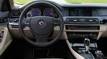 BMW Alpina B5 Biturbo Touring, Lenkrad, Cockpit