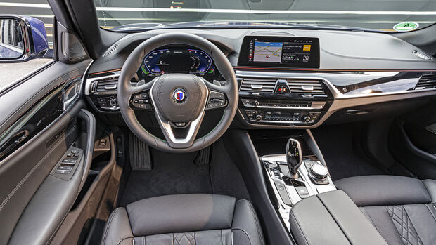 BMW Alpina B5 Touring, Interieur