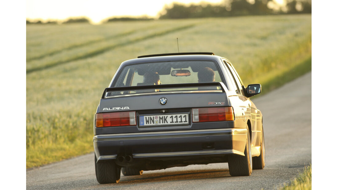 BMW Alpina B6 3.5 S, Heck