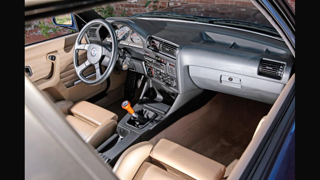 BMW Alpina B6 3.5 S, Innenraum, Cockpit