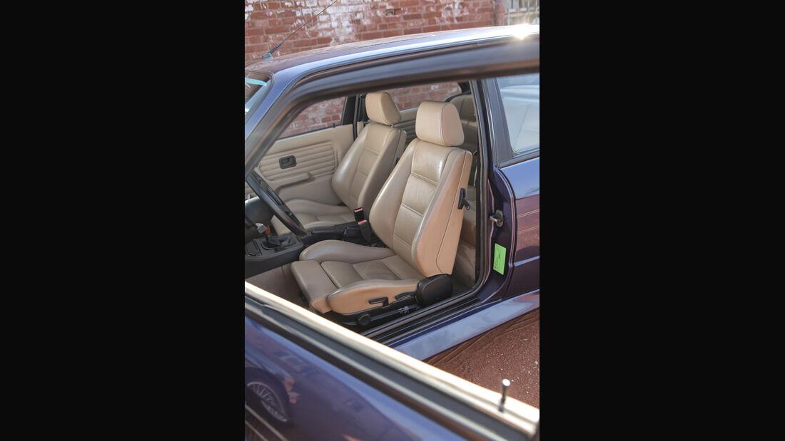 BMW Alpina B6 3.5 S, Vordersitz, Fahrersitz