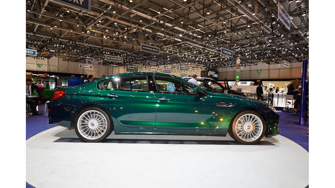 BMW Alpina B6 Biturbo Gran Coupé Allrad, Genfer Autosalon, Messe, 2014