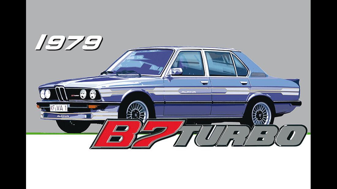 BMW Alpina B7 Turbo