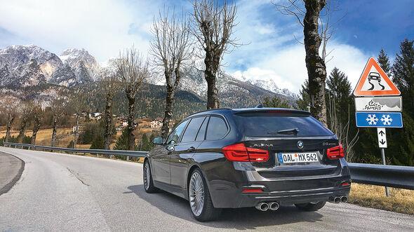 BMW Alpina D3 Biturbo, Heckansicht