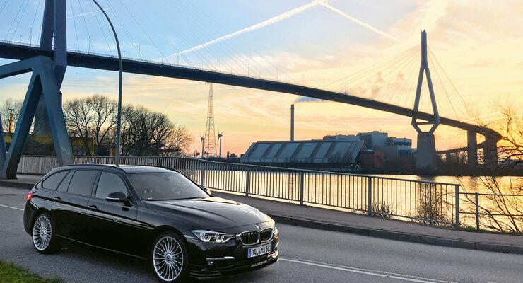 BMW Alpina D3 Biturbo, Seitenansicht