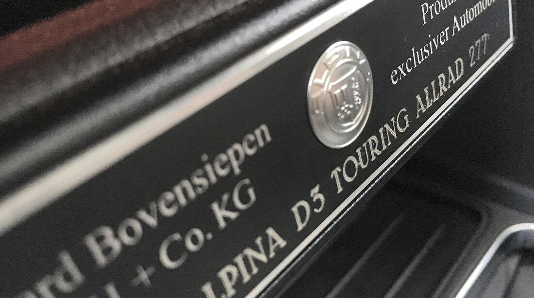 BMW Alpina D3 Biturbo Touring Allrad, Interieur