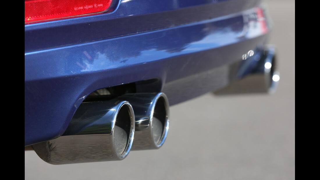 BMW Alpina D3 Touring, Auspuff, Endrohr