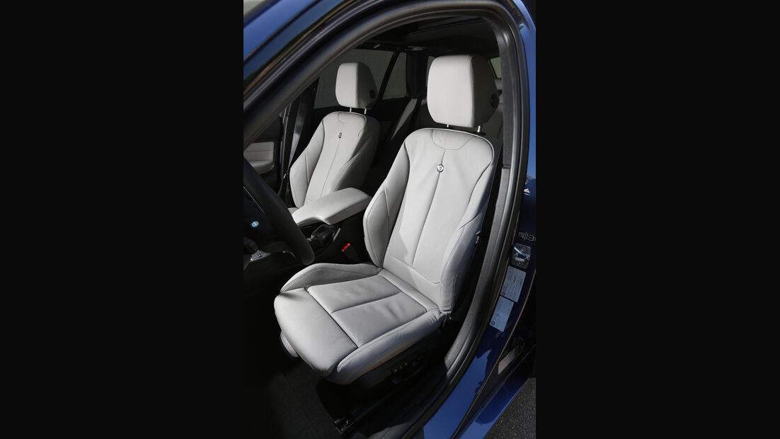 BMW Alpina D3 Touring, Fahrersitz