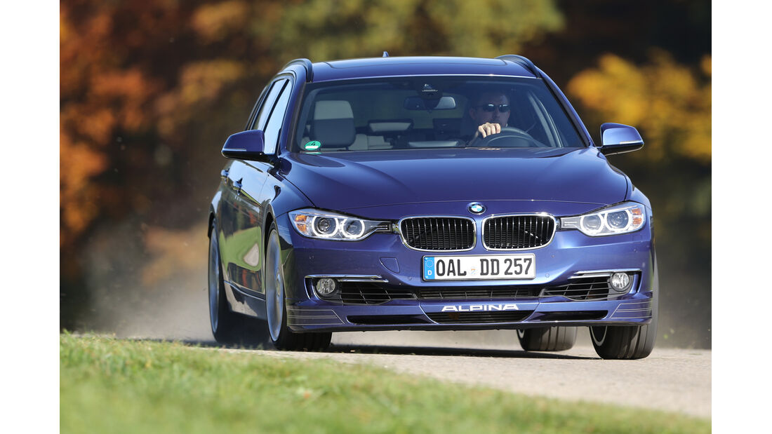 BMW Alpina D3 Touring, Frontansicht