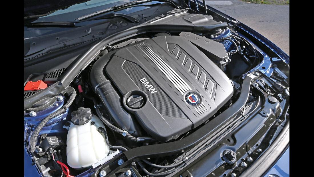 BMW Alpina D3 Touring, Motor