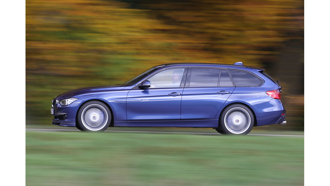 BMW Alpina D3 Touring, Seitenansicht