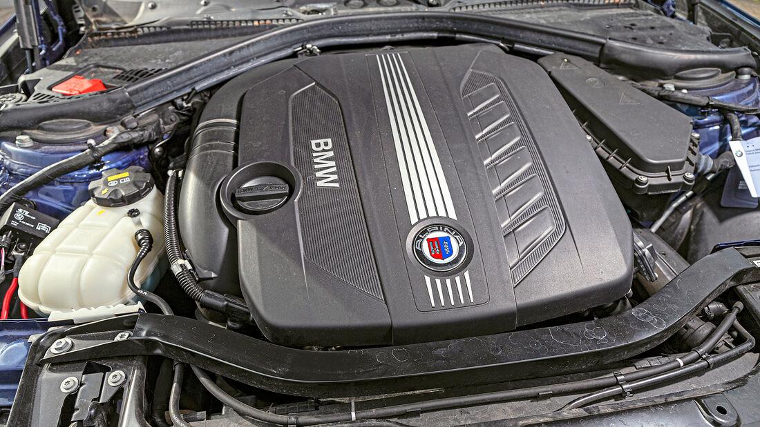 BMW Alpina D4 Biturbo, Motor