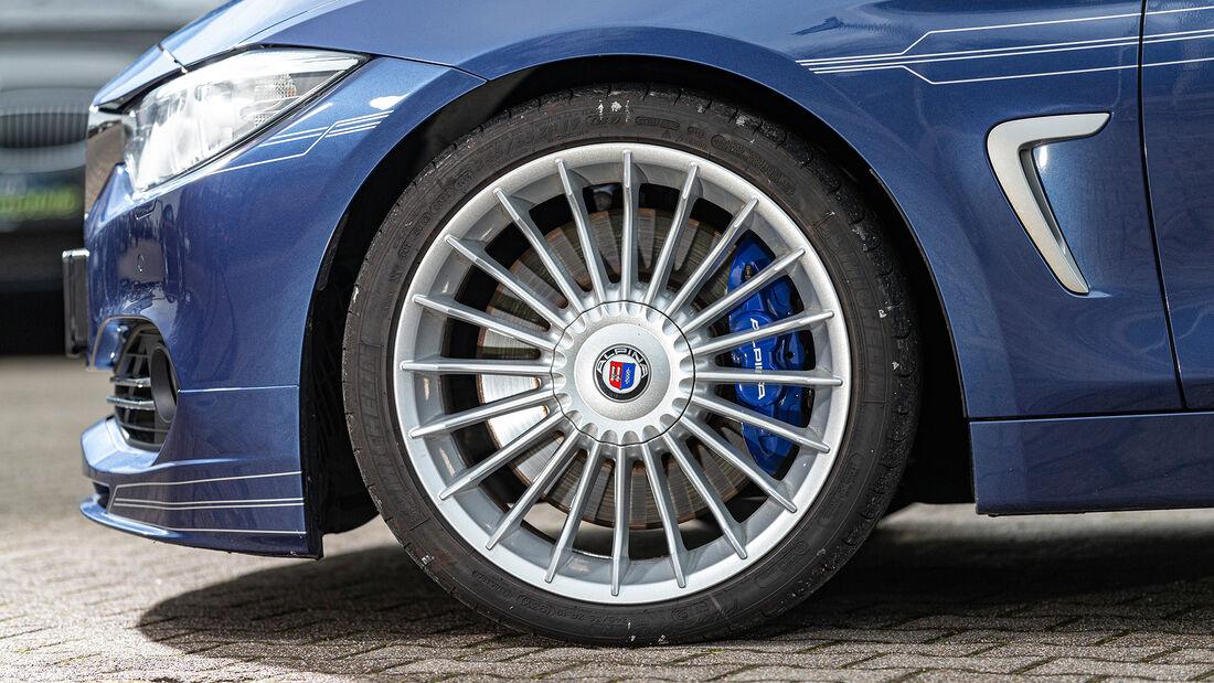 BMW Alpina D4 Biturbo, Rad