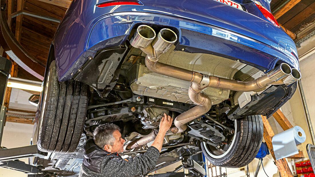 BMW Alpina D4 Biturbo, Werkstatt