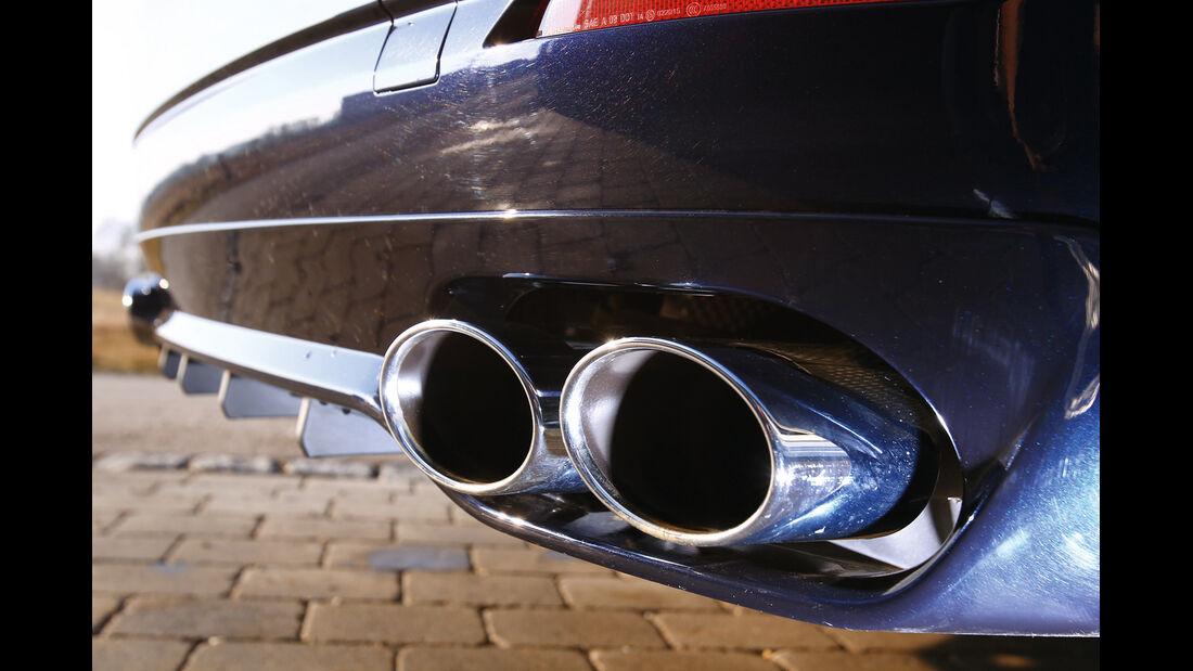 BMW Alpina D5, Auspuff, Endrohr