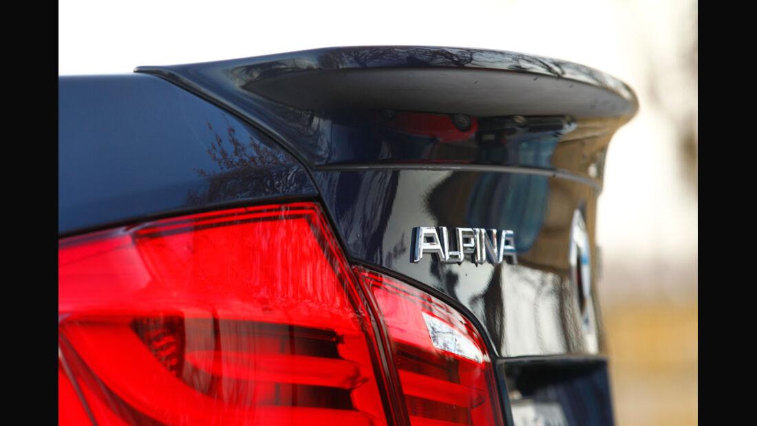 BMW Alpina D5 Biturbo, Heckspoiler