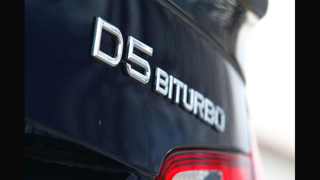 BMW Alpina D5 Biturbo, Schriftzug
