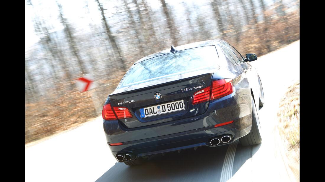 BMW Alpina D5, Heck