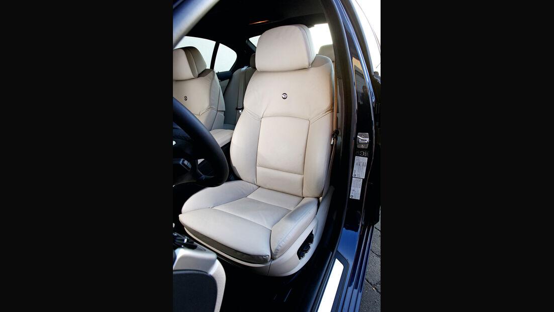 BMW Alpina D5, Ledersitz, Fahrersitz
