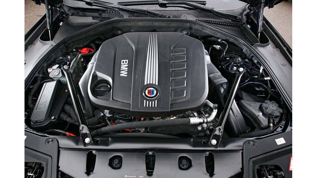 BMW Alpina D5, Motor