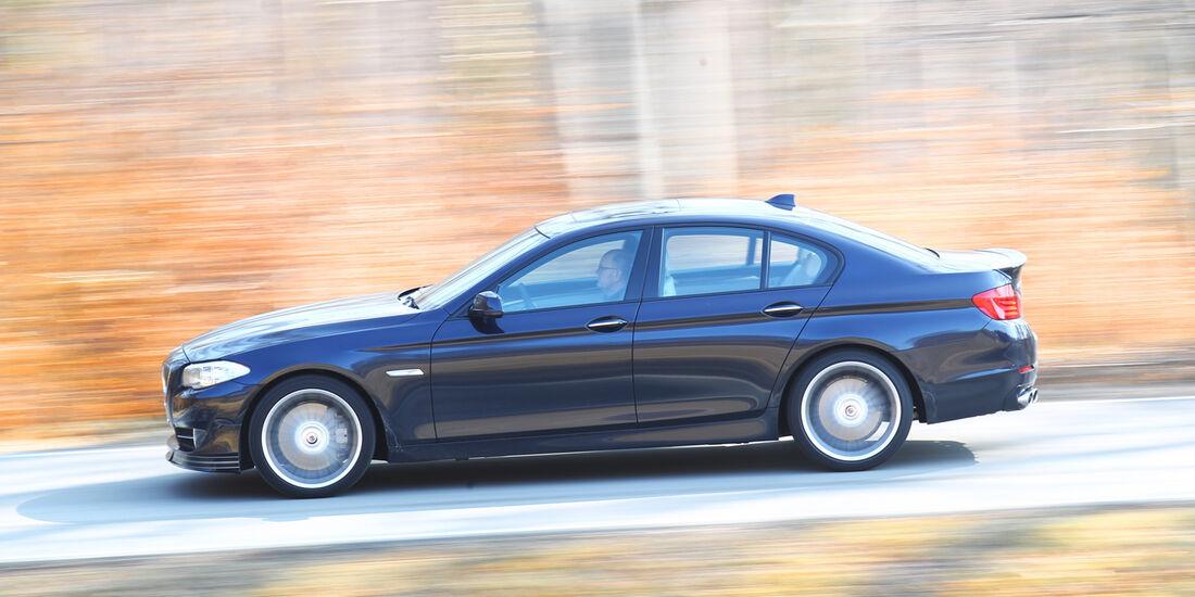 BMW Alpina D5, Seitenansicht