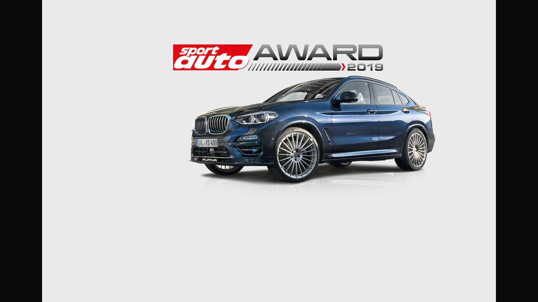 BMW-Alpina XD4 - sport auto-Award 2019