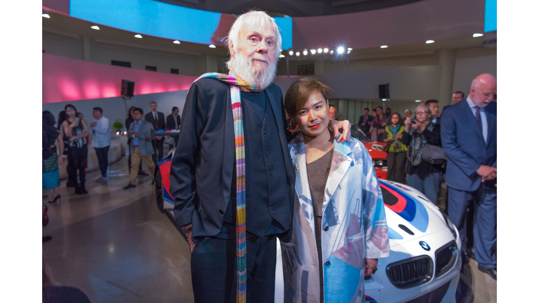 BMW Art Car Künstler - Cao Fei & John Baldessari
