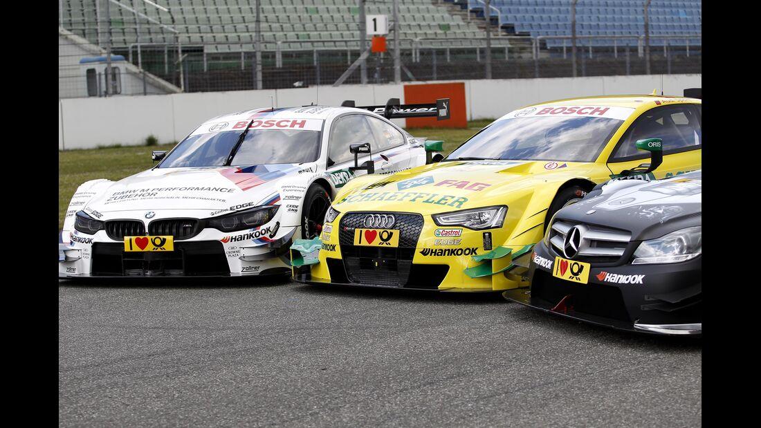 BMW, Audi & Mercedes - DTM 2014
