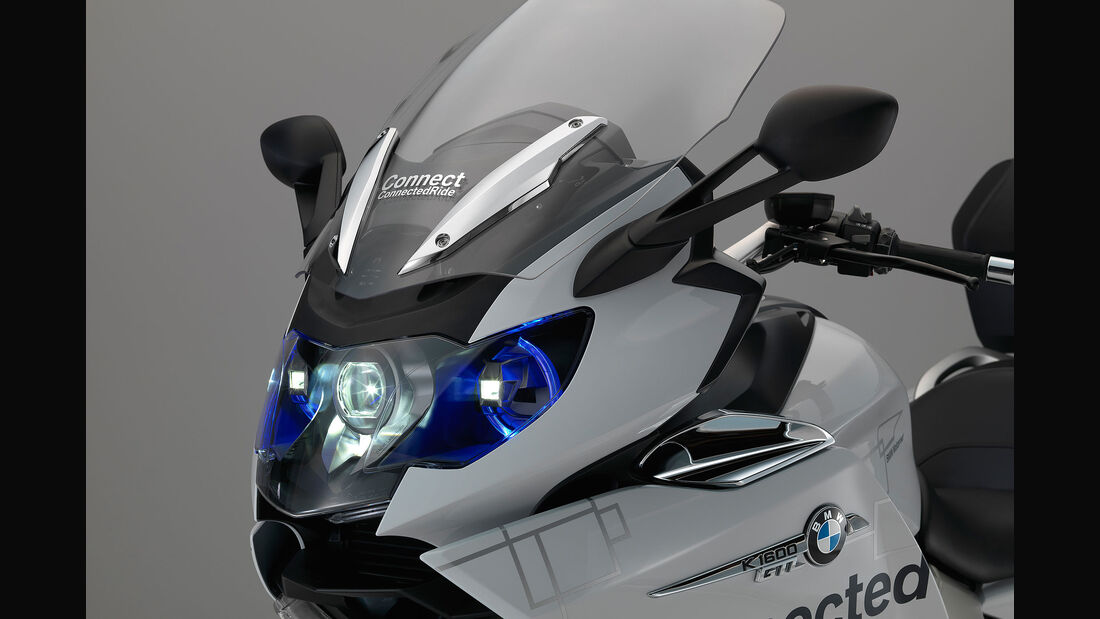 BMW CES 2016 Laserlicht Motorrad Sperrfrist 6.1.
