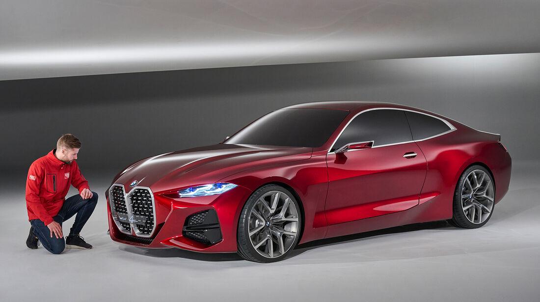 BMW Concept 4 Series Coupé - Das neue Gesicht des 4ers ...