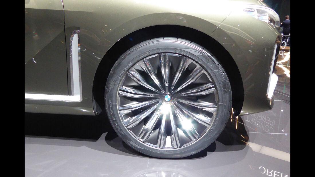BMW Concept X7 - Felgen - IAA 2017